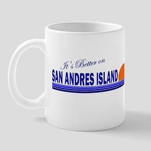 Its Better on San Andres Isla Mug