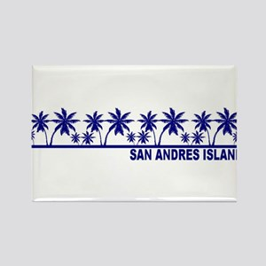 San Andres Island Rectangle Magnet
