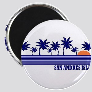 San Andres Island Magnet