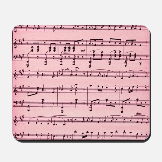 Sheet Music Mousepad