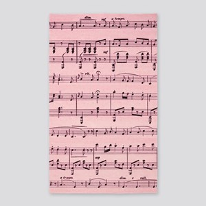 Sheet Music Area Rug