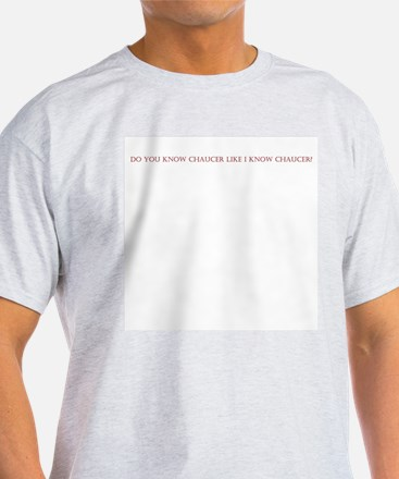 Chaucer's Prologue Organic Cotton Tee T-Shirt