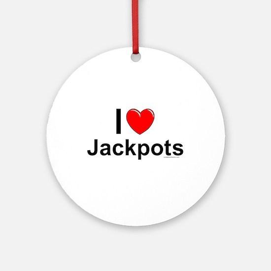Jackpots Round Ornament
