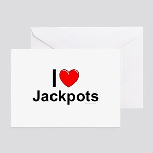 Jackpots Greeting Card