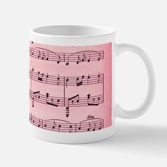 Sheet Music Mugs