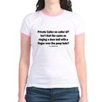Private Caller ID ? Jr. Ringer T-Shirt