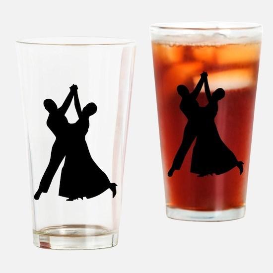 Standard dancing Drinking Glass