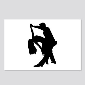 Dancing couple Postcards (Package of 8)