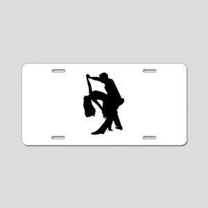 Dancing couple Aluminum License Plate