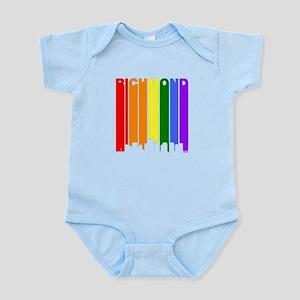 Richmond Gay Pride Rainbow Cityscape Body Suit