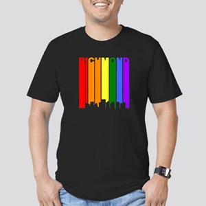 Richmond Gay Pride Rainbow Cityscape T-Shirt