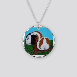 Cutie & Cuddle Necklace Circle Charm
