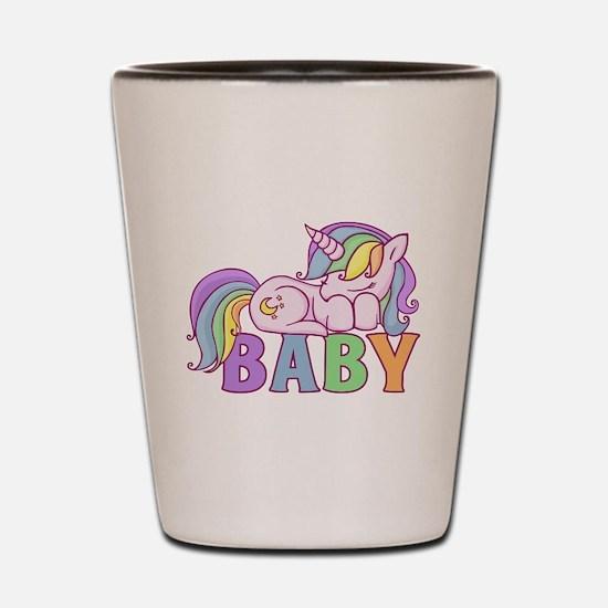 Unicorn Baby Shot Glass