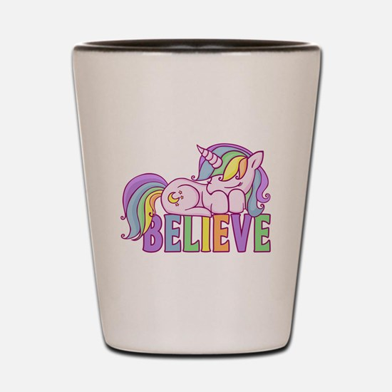 Unicorn Believe Shot Glass