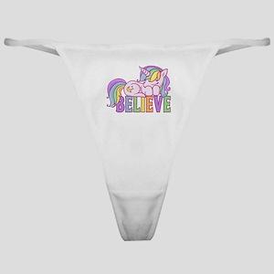 Unicorn Believe Classic Thong