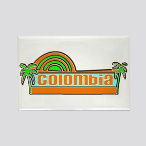 Colombia Rectangle Magnet