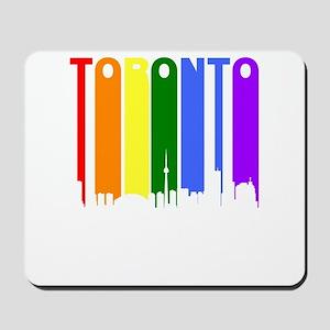Toronto Gay Pride Rainbow Cityscape Mousepad