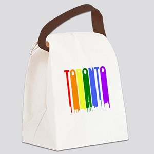 Toronto Gay Pride Rainbow Cityscape Canvas Lunch B