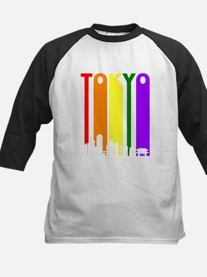 Tokyo Gay Pride Rainbow Cityscape Baseball Jersey