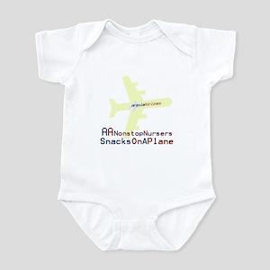 Snacks on a Plane Infant Bodysuit