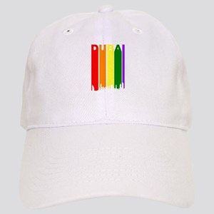 Dubai Gay Pride Rainbow Cityscape Baseball Cap