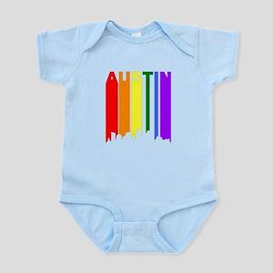 Austin Gay Pride Rainbow Cityscape Body Suit
