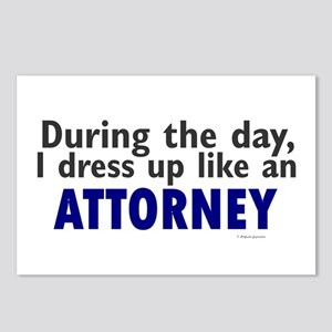 Dress Up Like An Attorney Postcards (Package of 8)