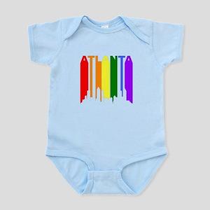 Atlanta Gay Pride Rainbow Cityscape Body Suit
