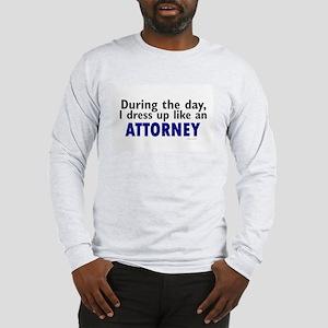 Dress Up Like An Attorney Long Sleeve T-Shirt