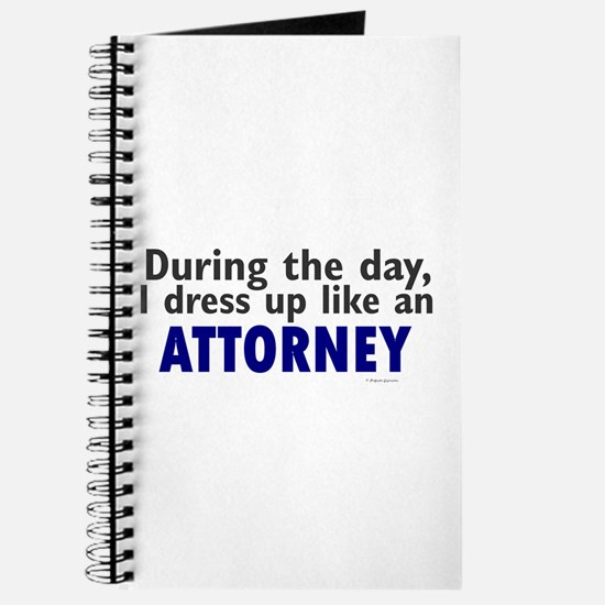 Dress Up Like An Attorney Journal