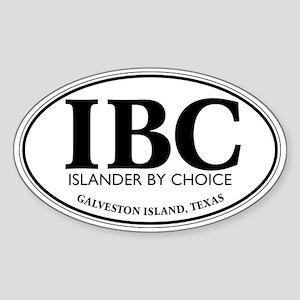 IBC Islander By Choice Sticker