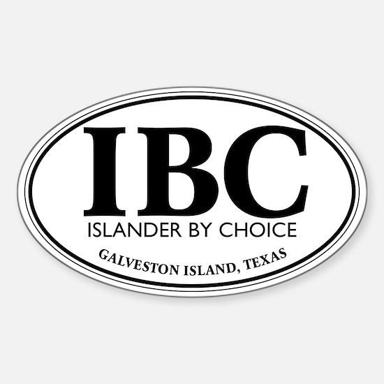 IBC Islander By Choice Decal