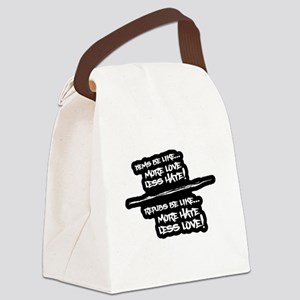 DEMS BE LIKE... REPUBS BE LIKE... Canvas Lunch Bag