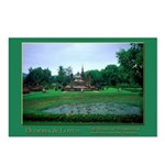 Buddha & Lotus Pool Postcards (Package of 8)