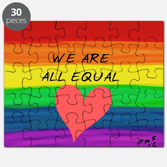 Cute Equal rights Puzzle