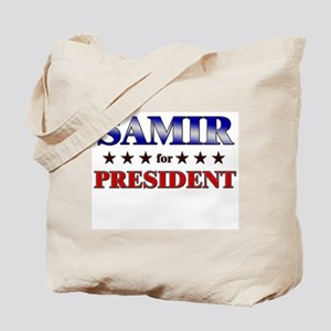 SAMIR for president Tote Bag