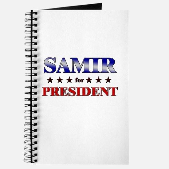 SAMIR for president Journal