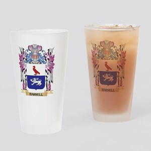 Barrell Coat of Arms (Family Crest) Drinking Glass