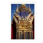 Azure Glass & Gold Postcards (Package of 8)