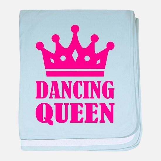 Dancing queen baby blanket