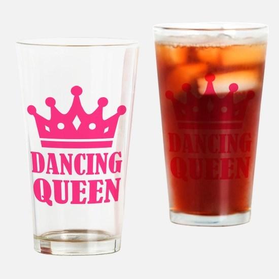 Dancing queen Drinking Glass