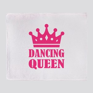 Dancing queen Throw Blanket