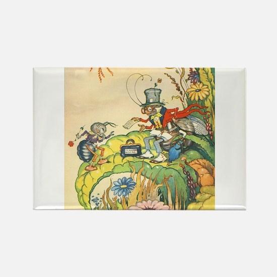 Harrison Cady - Ant Ve Rectangle Magnet (100 pack)