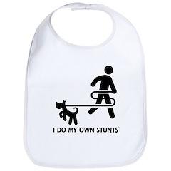 Dog Training I Do My Own Stunts Bib