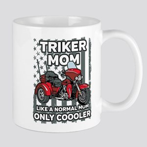 Motorcycle Triker Mom 11 oz Ceramic Mug