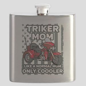 Motorcycle Triker Mom Flask