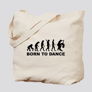 Evolution dancing born to dance Tote Bag