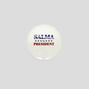 SALMA for president Mini Button