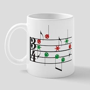 Christmas Music Mug