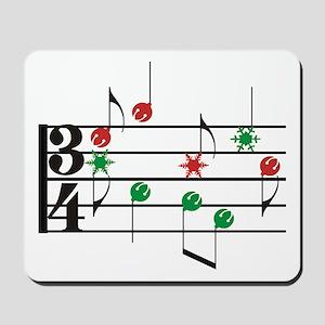 Christmas Music Mousepad